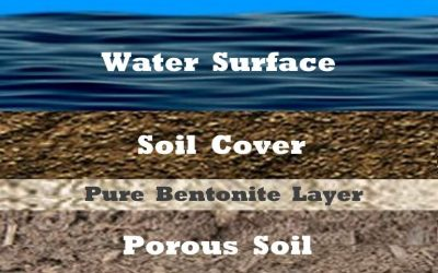 Sealing Dams With Sodium Bentonite – The Pure Blanket Method