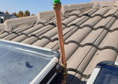 Solar Geyser 200 Litre Installation